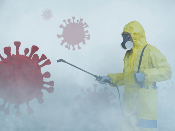 dezinfectie prin nebulizare